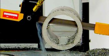 Q701 M71 Bimetal Superior Performance Bandsaw Blade in action